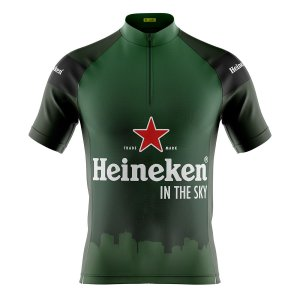 Camisa Ciclismo Mountain Bike Heineken