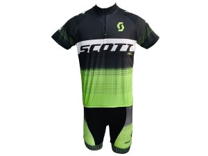 Conjunto Ciclismo Mountain Bike Bermuda e Camisa Scott RC
