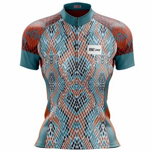 Camisa Ciclismo Mountain Bike Feminina Snake