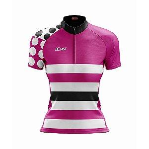 Camisa Ciclismo Mountain Bike Feminina Pink