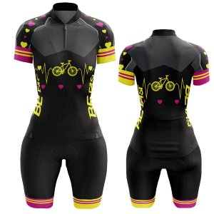 Conjunto Bermuda e Camisa Ciclismo Mountain Bike Bicicletinha