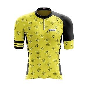 Camisa Ciclismo Mountain Bike Feminina Diamantes