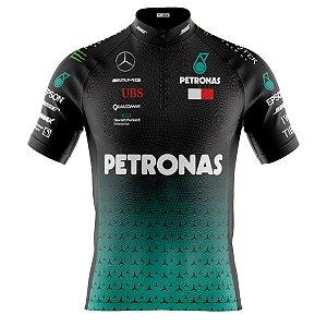 Camisa Ciclismo Mountain Bike F1 Mclaren Petronas