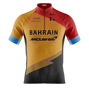Camisa Ciclismo Mountain Bike Bahrain Mclaren