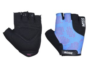 Luva Ciclismo Mountain Bike Kode Miss Azul