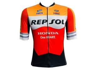 Camisa Ciclismo Mountain Bike Repsol Premium Zíper Total