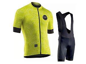 Conjunto Ciclismo Bretelle e Camisa Northwave