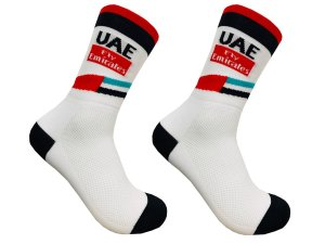 Meia Ciclismo Mountain Bike Cano Longo UAE Team Emirates