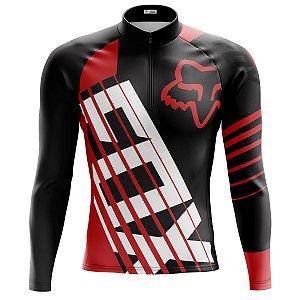 Camisa Ciclismo Fox Racing Manga Longa Dry Fit