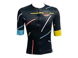 Camisa Ciclismo Pro Tour Segóvia Premium Zíper Total