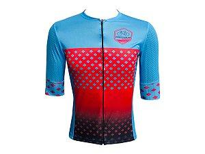 Camisa Ciclismo Pro Tour Barcelona Premium Zíper Total