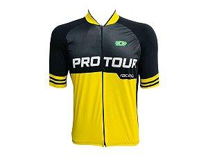 Camisa Ciclismo Mountain Bike Pro Tour Racing Zíper Abertura Total
