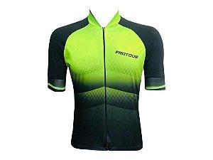 Camisa Ciclismo Mountain Bike Pro Tour Turin Zíper Abertura Total