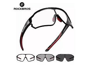 Óculos Ciclismo Esportivo Rockbros Fotocromático