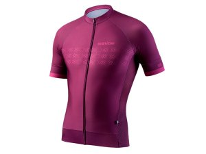 Camisa Ciclismo Masculina Evoe Bordô