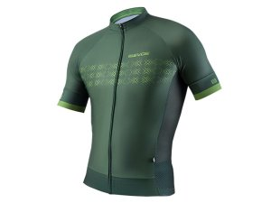 Camisa Ciclismo Masculina Evoe Verde