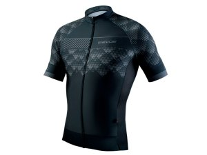 Camisa Ciclismo Masculina Evoe Preto Cinza