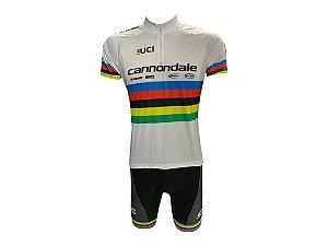 Conjunto Ciclismo Mountain Bike Canondale UCI Bermuda e Camisa