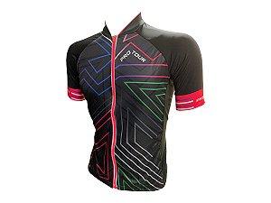 Camisa Ciclismo Mountain Bike Feminina Pro Tour Zíper Full
