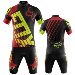 Conjunto Ciclismo Mountain Bike Fox Bermuda e Camisa