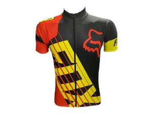 Camisa Ciclismo Mountain Bike Fox Racing Zíper Abertura Total