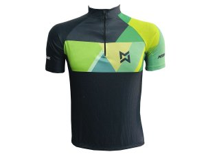 Camisa Ciclismo Mountain Bike Black Green