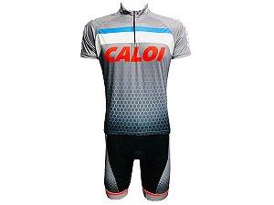 Conjunto Ciclismo Mountain Bike Caloi Bermuda e Camisa