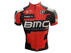 Camisa Ciclismo Mountain Bike BMC Zíper Full