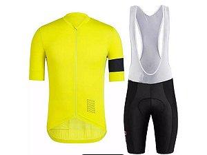 Conjunto Ciclismo Bretelle e Camisa Pro Forro em Gel