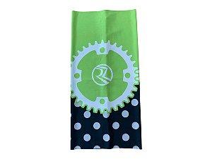 Bandana Ciclismo Unissex Risco Zero Coroa Verde