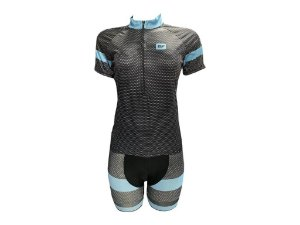 Conjunto Ciclismo Feminino Bermuda e Camisa MOD 18