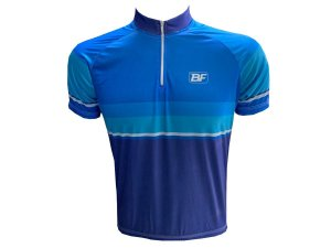 Camisa Ciclismo Masculina Be Fast Azul Colors
