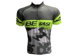 Camisa Ciclismo Masculina Be Fast Camuflada