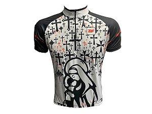 Camisa Ciclismo Masculina MTB Santa com Cruz