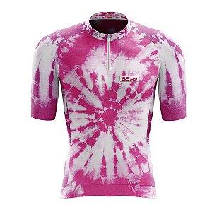Camisa Ciclismo Mountain Bike Feminina Tie Dye