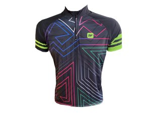 Camisa Ciclismo Mountain Bike Riscos Neon