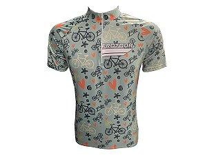 Camisa Ciclismo Mountain Bike Feminina Verde Bikes