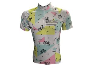 Camisa Ciclismo Mountain Bike Feminina Branca Bikes
