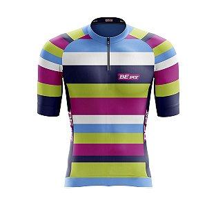 Camisa Ciclismo Mountain Bike Feminina Colorida
