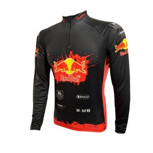 Camisa Ciclismo Mountain Bike Red Bull BE FAST MODELO 80