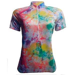 Camisa Ciclismo Mountain Bike Feminina  Tie Day