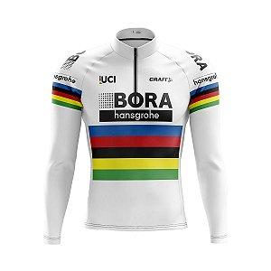 Camisa Ciclismo Mountain Bike Bora Manga Longa