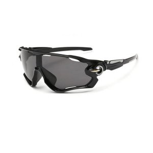 Óculos de Ciclismo Unissex Preto