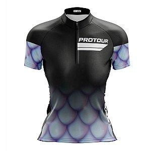 Camisa Ciclismo Mountain Bike Feminina Pro Tour Sereia
