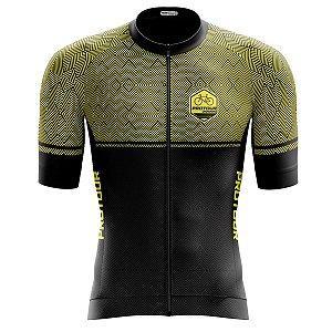 Camisa Ciclismo Pro Tour Premium Ghost Zíper Abertura Total