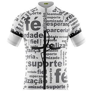 Camisa Ciclismo Mountain Bike Escritas FÉ