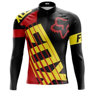 Camisa Manga longa Ciclismo Mountain Bike Fox Racing Manga Longa