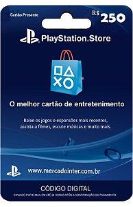 PLAYSTATION NETWORK R$250 REAIS - BRASIL