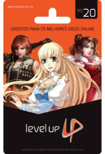 CARTÃO LEVEL UP GAMES R$20