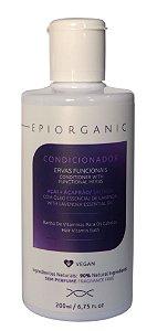 BIOZENTHI - Condicionador EPIORGANIC Açai + Açafrão e Óleo Essencial de Lavanda 200ml - Natural - Vegano - Sem Glúten